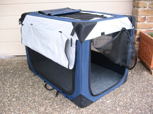 Dog Soft Kennel BLUE