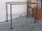 "BIRD CAGE STAND WITH CASTORS FOR 30"" LARGE CAGE"