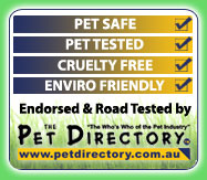 Endorsed & Road Tested by The Pet Directory